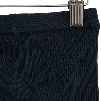 Wheat Strick Hose Neel Trousers 1432 navy