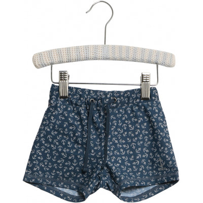 Wheat Swim Shorts Eli Swimwear 9064 indigo anchor
