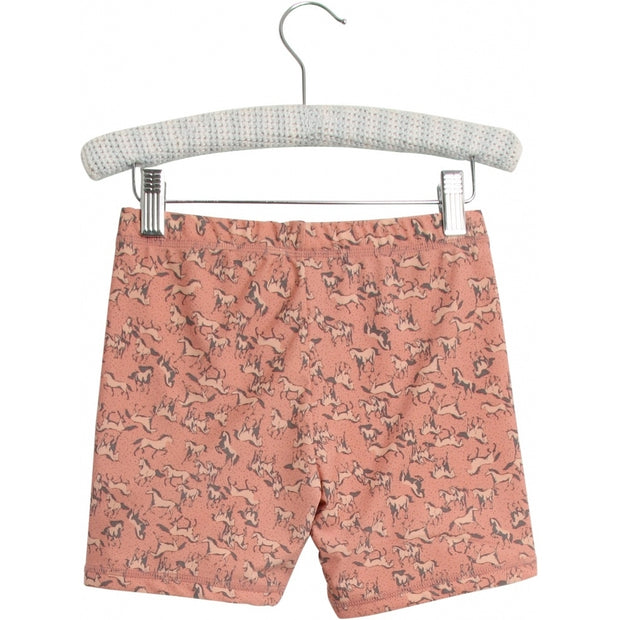 Wheat Swim Shorts Niki Swimwear 2271 misty rose horses