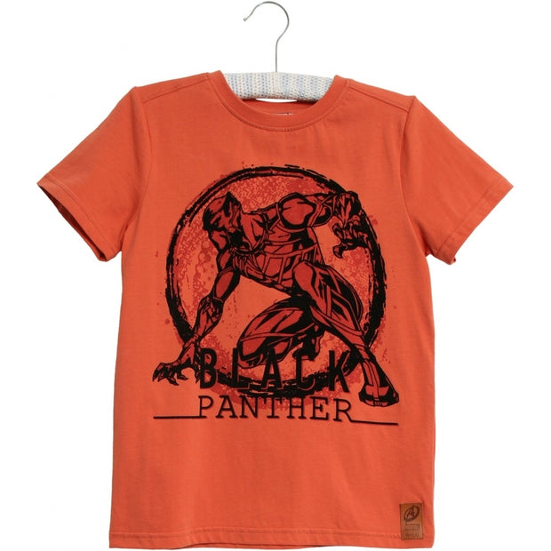Disney/Marvel T-Shirt Black Panther Jersey Tops and T-Shirts 3315 wood