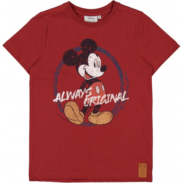 Disney/Marvel T-Shirt Micky Original Jersey Tops and T-Shirts 5089 warm brick