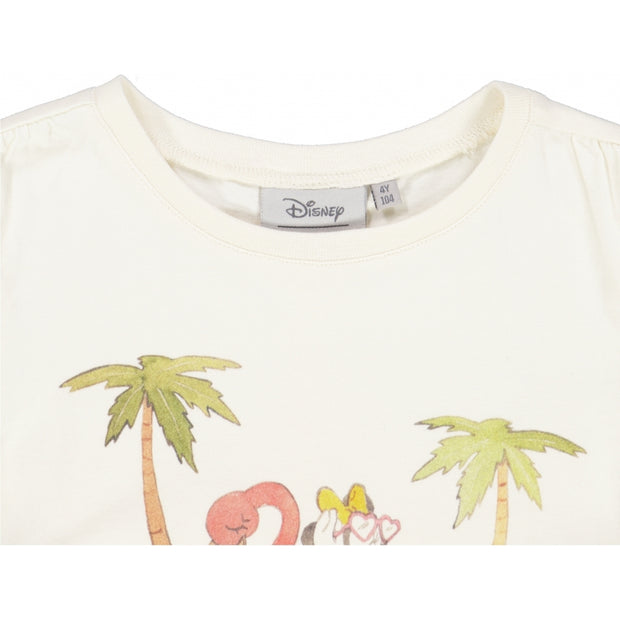Disney/Marvel T-Shirt Minnie Strand Jersey Tops and T-Shirts 3182 ivory