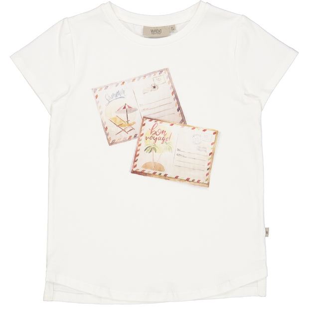 Wheat T-Shirt Postkarte Jersey Tops and T-Shirts 3182 ivory