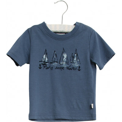 Wheat T-Shirt Schiffe Jersey Tops and T-Shirts 1194 blue denim