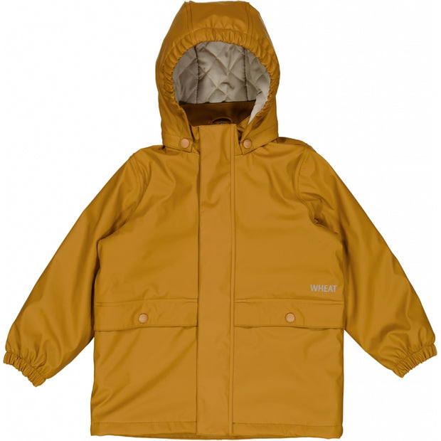 Wheat Outerwear Thermo Regenjacke Ajo Rainwear 4341 almond