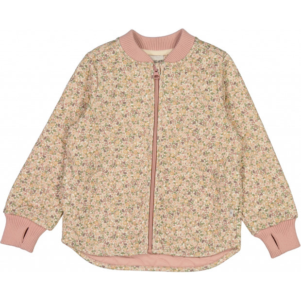 Wheat Outerwear Thermojacke Loui Thermo 3130 eggshell flowers