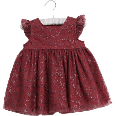 Disney/Marvel Tüllkleid Mickey Weihnachten Dresses 2107 Mickey burgundy