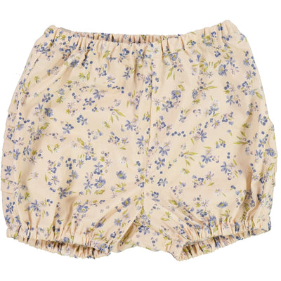 Wheat Windelhosen Falten Shorts 9048 alabaster flowers