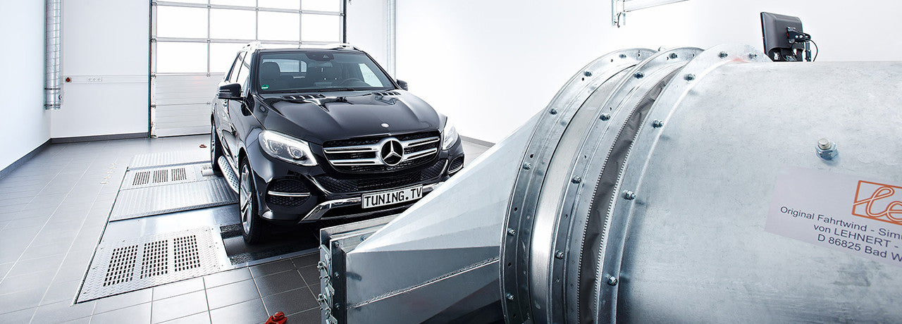 Mercedes GLE on Dynometer