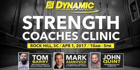 4/1/17 - Strength Coaches Clinic - Rock Hill, SC