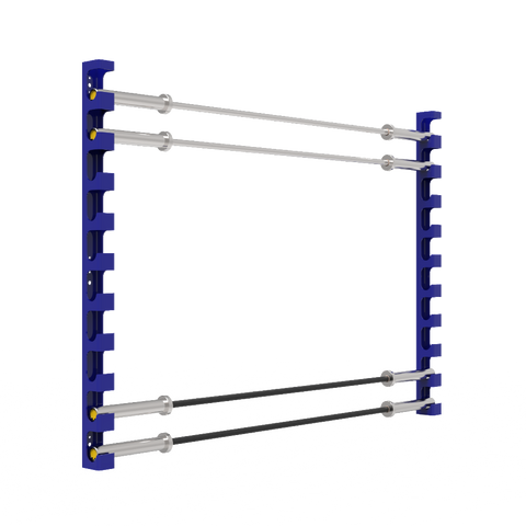 Accell Wall Mounted Bar Rack