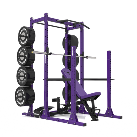 Gladiator 3/4 Rack w/ Storage