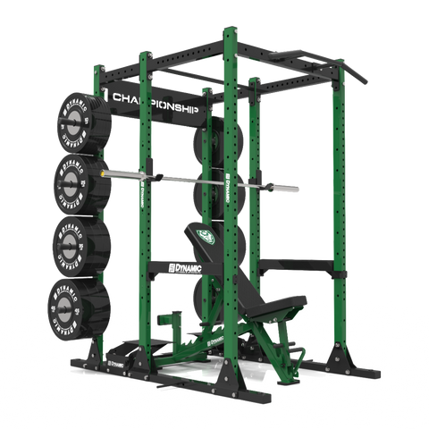 Gladiator Power Rack w/ Storage