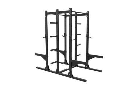Gladiator Double Half Rack w/ Storage