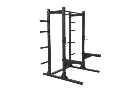 Gladiator Half Rack w/ Storage 80""