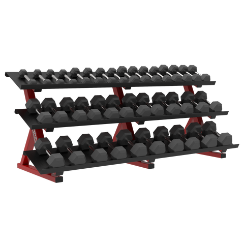 ULTRA PRO 3-TIER HEX DUMBBELL RACK