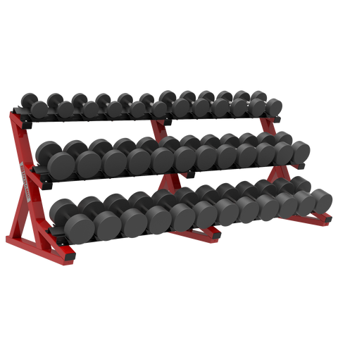 ULTRA PRO 3-TIER PRO STYLE DUMBBELL RACK
