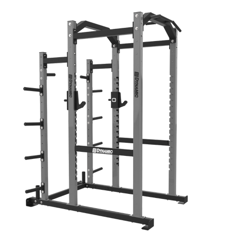 Edge 9' Power Rack, Bumper Storage