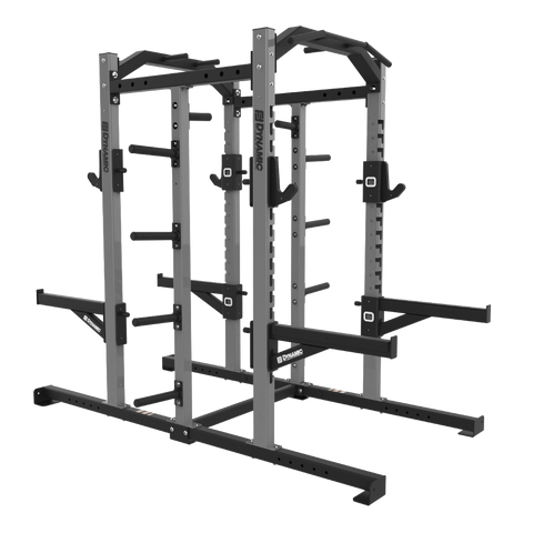 Edge Double Half Rack, Single Storage Post, Bumper Storage