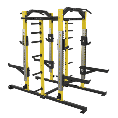 Ultra Pro Double Half Rack - Single Storage Post
