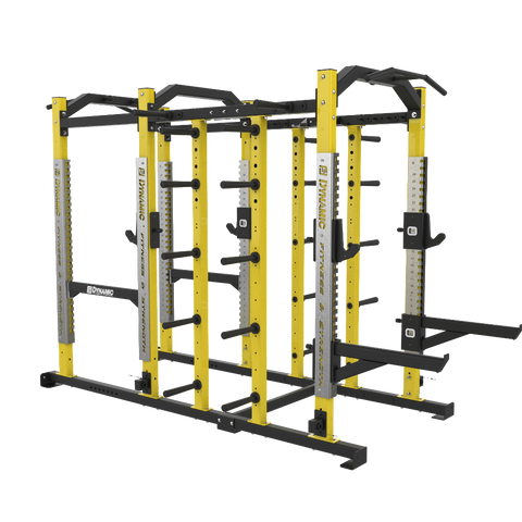 Ultra Pro Power Rack/ Half Rack Combo, Dual Storage Post