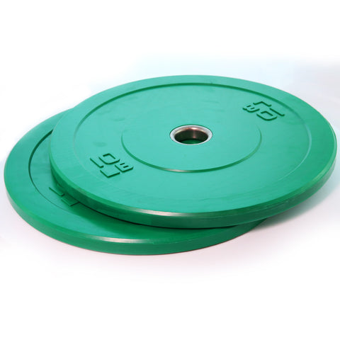 COLOR-CODED BUMPER PLATES