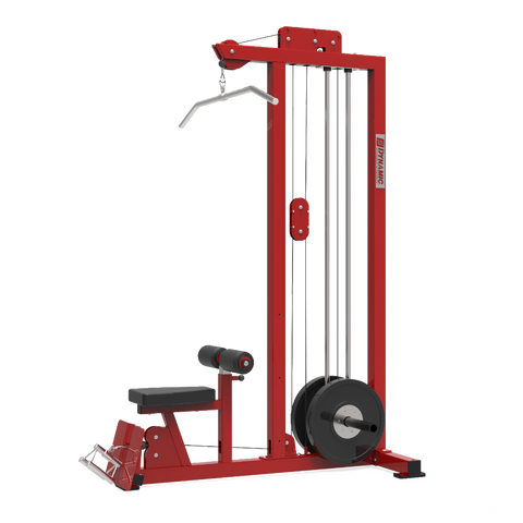 STAND ALONE LAT LOW ROW MACHINE