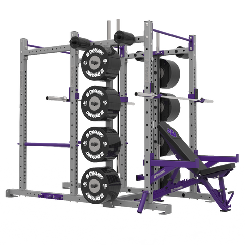 Titan G2 Half Rack / Power Rack Single Post Combo
