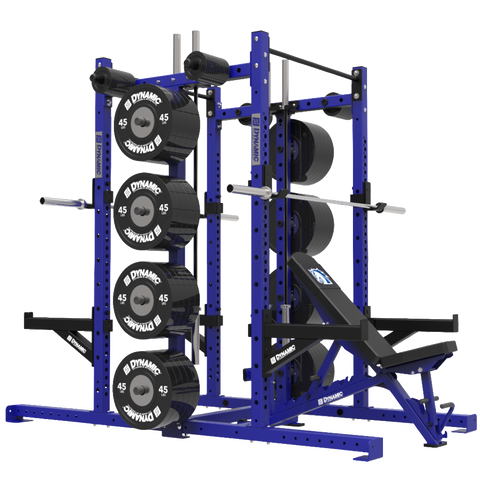 Titan G2 Double Half Single Post Rack