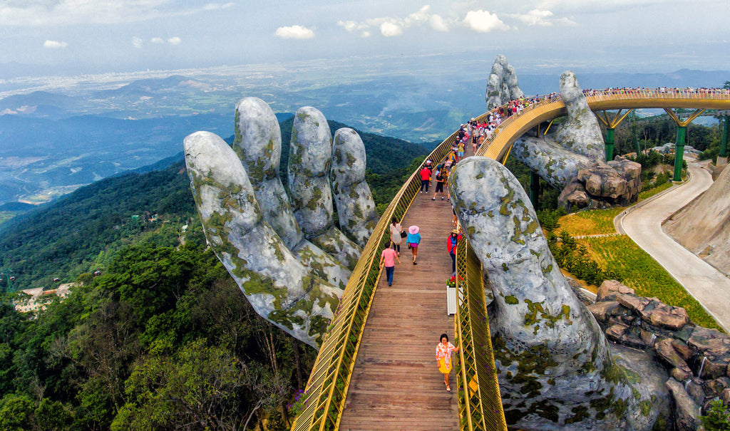 Golden Bridge em Ba Na Hills