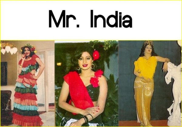 figurino filme Mr India
