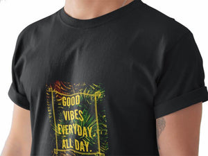 Camiseta Masculina - Good Vibes