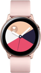 Samsung - Galaxy Watch Active Smartwatch 40mm Aluminium - Rose Gold, Wearable Technology