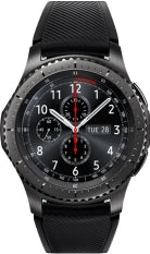 Samsung - Gear S3 Frontier Smartwatch 46mm - Dark Gray, Wearable Technology
