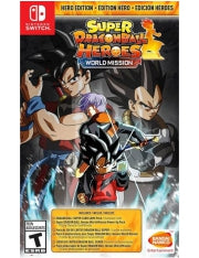 Super Dragonball Heroes World Mission Hero Edition - Nintendo Switch