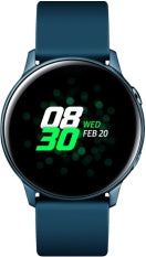 Samsung - Galaxy Watch Active Smartwatch 40mm Aluminium - Green, Wearable Technology