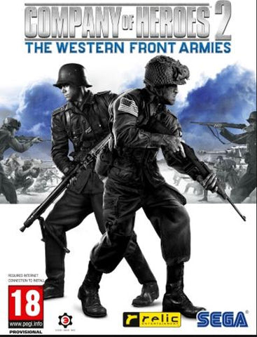 Company of Heroes 2: The Western Front Armies Pack, qbo-one-digital-games