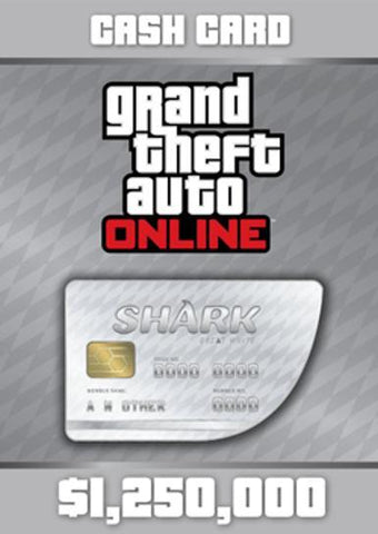 Grand Theft Auto V GTA: Great White Shark Cash Card, [product_type]