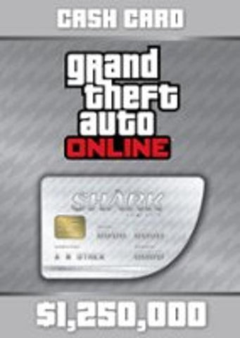 Grand Theft Auto V & Great White Shark Cash Card, qbo-one-digital-games