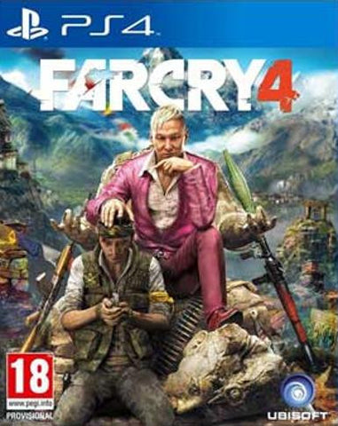 Far Cry 4 - PS4, PSN