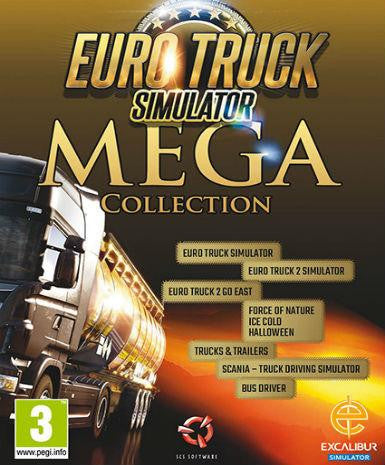 Euro Truck Simulator (Mega Collection)