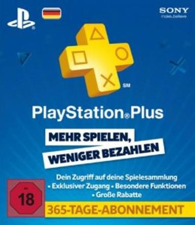 PlayStation Network Card (PSN) 365 Days (German), [product_type]