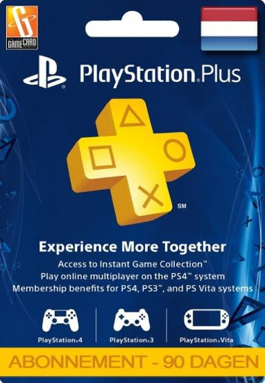 PlayStation Network Card (PSN) 90 Days (Netherlands)