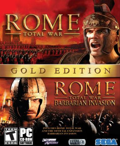 Rome: Total War (Gold Edition), [product_type]