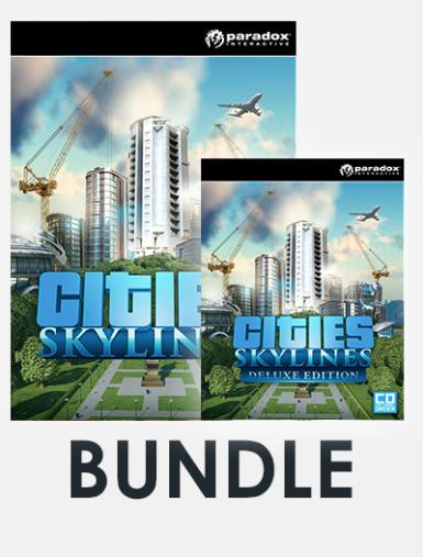 Cities: Skylines Bundle 1 (Incl. Cities: Skylines + Cities: Skylines Digital Deluxe Edition)
