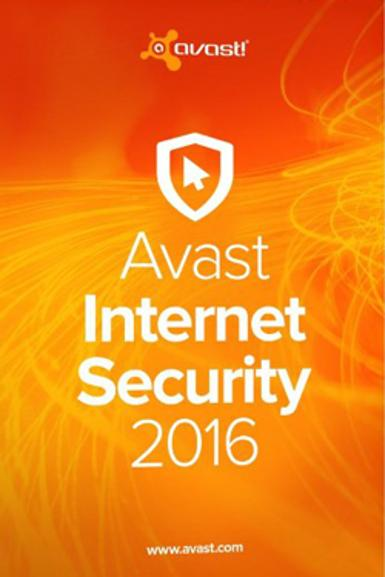 Avast Internet Security 2016 - 2 Year 1 PC