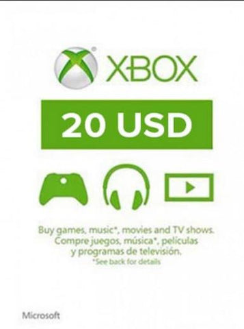 Xbox Live 20 USD, [product_type]