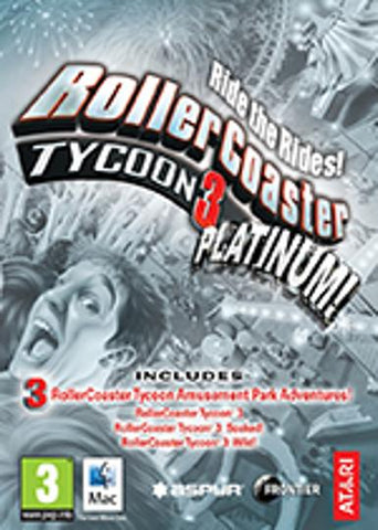 RollerCoaster Tycoon 3: Platinum, [product_type]