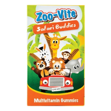 Zoo-Vite Safari Buddies - Multivitamine Gummies - Heritage