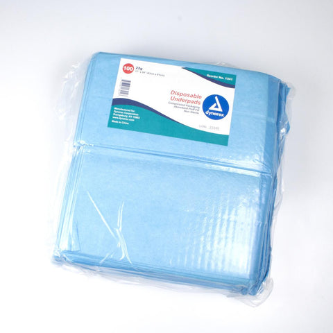Disposable Incontinence Underpads by Dynarex Corporation